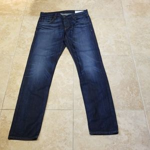 Rag and bone standard blue jeans never worn